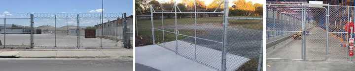 Chain Wire Gates - made in Brisbane