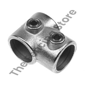 """Kwikclamp 101 Series, galv """"T"""" connector fittings"""