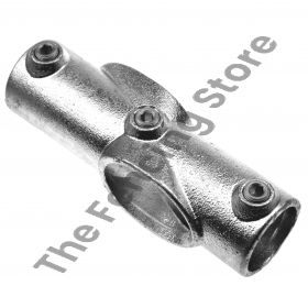 """Kwikclamp 156 Series, incline angled """"X"""" connector, 0-11 degrees-D48"""
