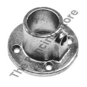 Kwikclamp 131 Series, round base flange