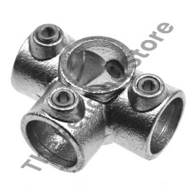Kwikclamp 176 Series, 4 way end connector-D48