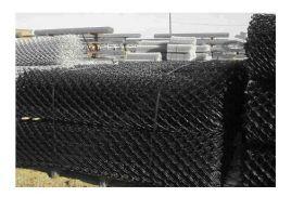 PVC Coated Chain wire mesh, 50mm diamond x 2.5mm diam hot dip galv wire