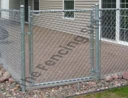 Chain wire gates, Residential Fencing, single