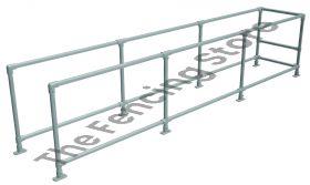 Trolley Bay Kit - single, 750mm wide x 4500mm long