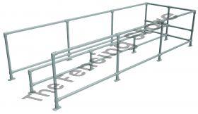 Trolley Bay Kit - double, 1500mm wide x 4500mm long