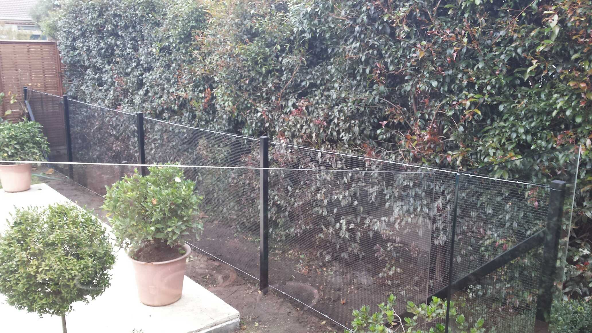 PVC Coated Welded Wire Mesh - Pool Fencing