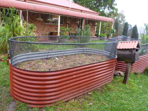 Garden bed protection