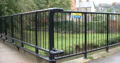 Fencing using Interclamp fittings